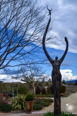 Statue at DeLoach