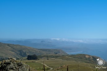 View from the road to Fort Ross Winery