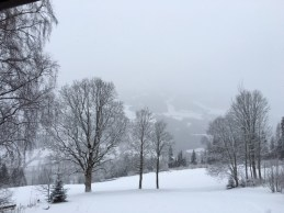 la neige, le calme, apaisant...