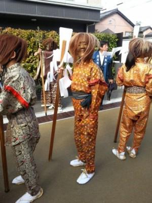 上野天神祭 2015 日程 鬼行列