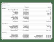 Click to view large - Finances Screenshot