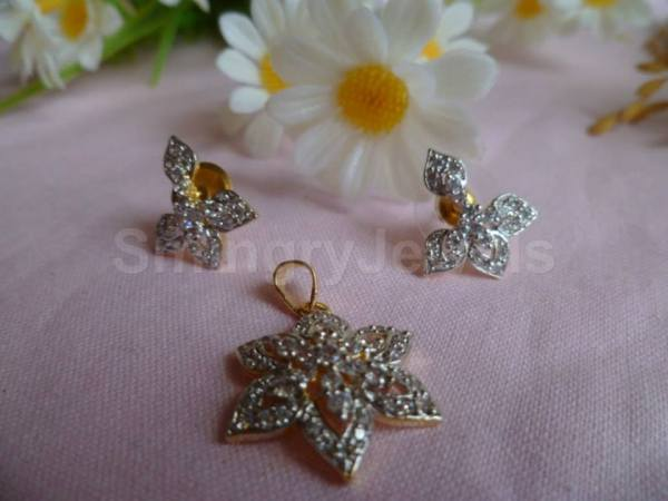 earring and pendant