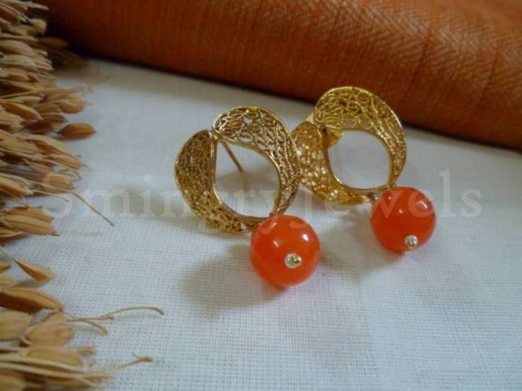 Antique Drop Earring