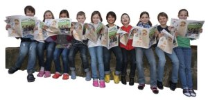 Kruschel Kinderzeitung / 4. Klasse Grundschule Ockenheim Foto: Harald Kaster Kruschel Kruschel Kinderzeitung / 4.