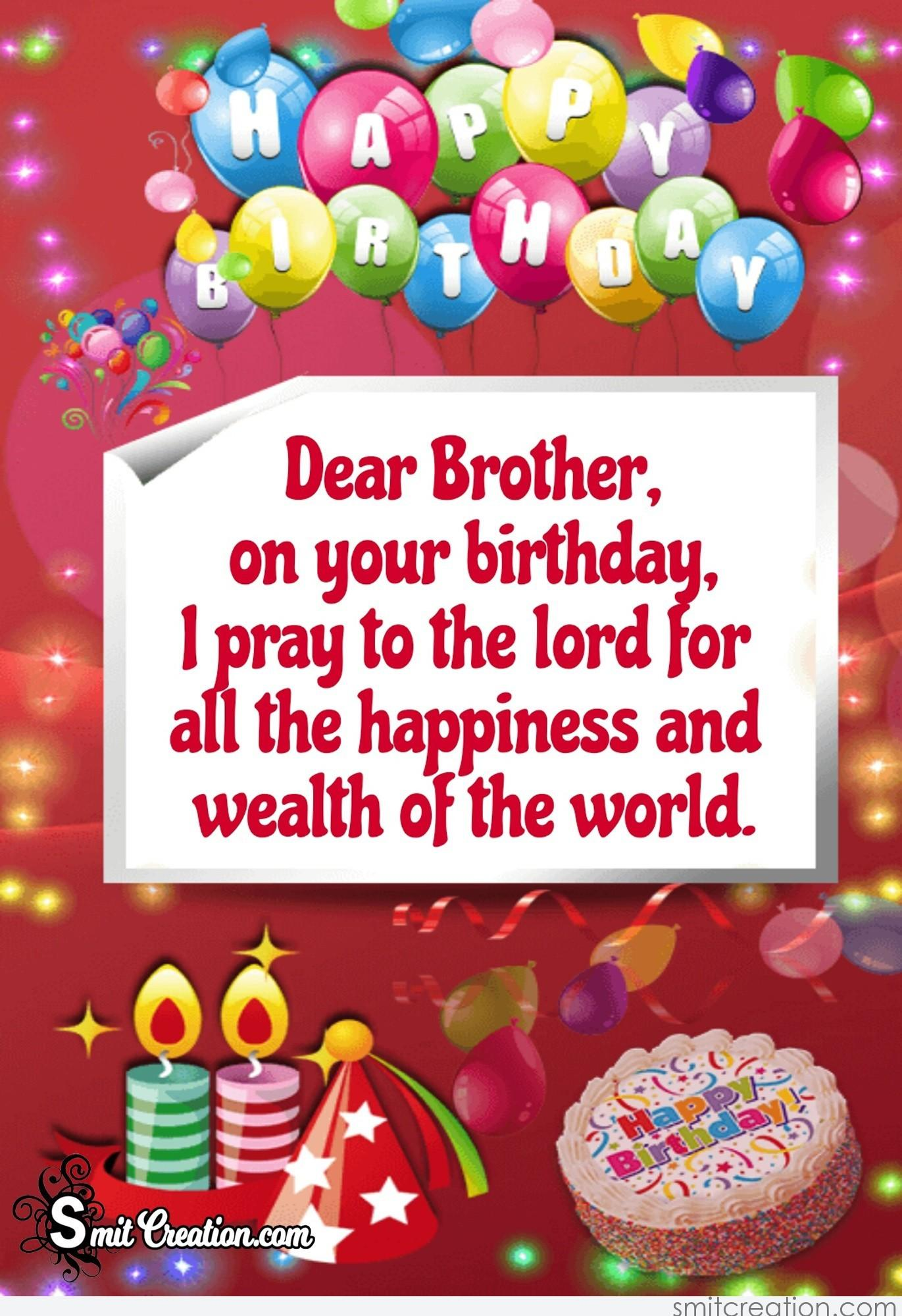 Images Of Happy Birthday Brother : images, happy, birthday, brother, Happy, Birthday, Brother, SmitCreation.com
