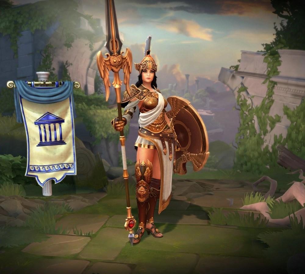 Athena  Official SMITE Wiki