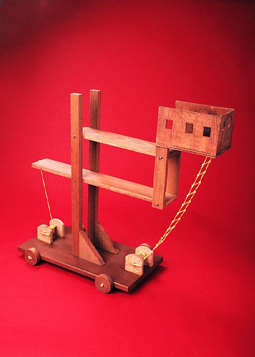 Siege Ladder : siege, ladder, Smith, College, Museum, Ancient, Inventions:, Siege, Ladder