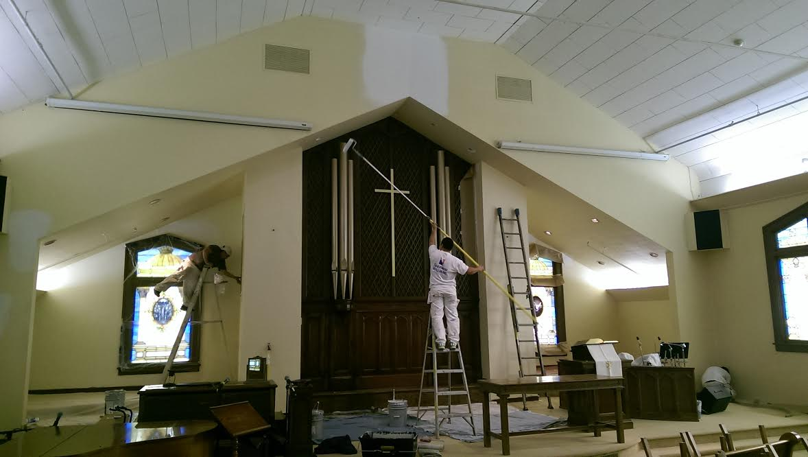 Case Study Painting A Local Mcminnville Church