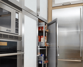 Efficient pantry storage