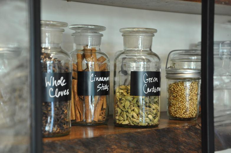 Custom spice jars
