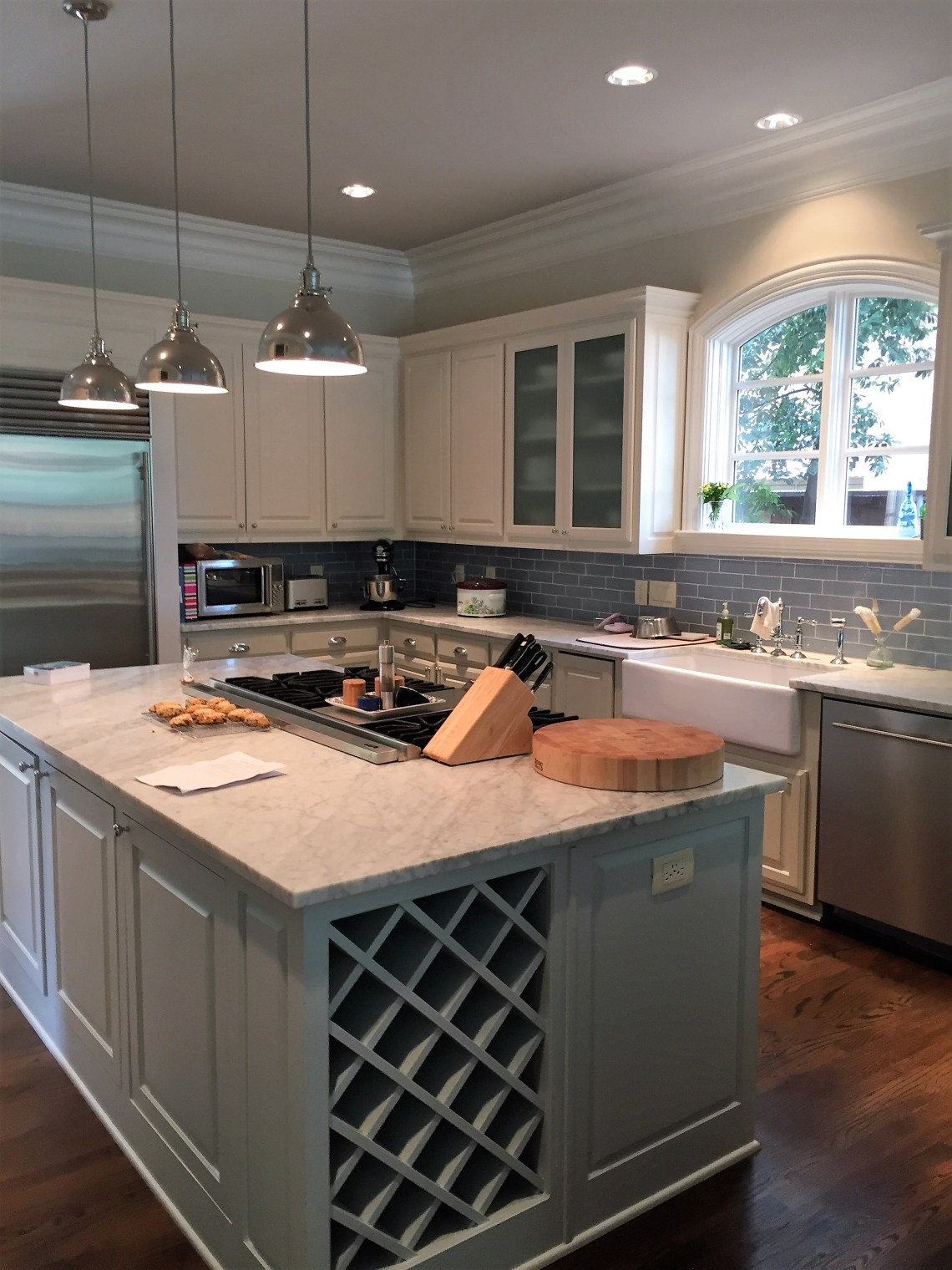 before and after photos of kitchen renovation