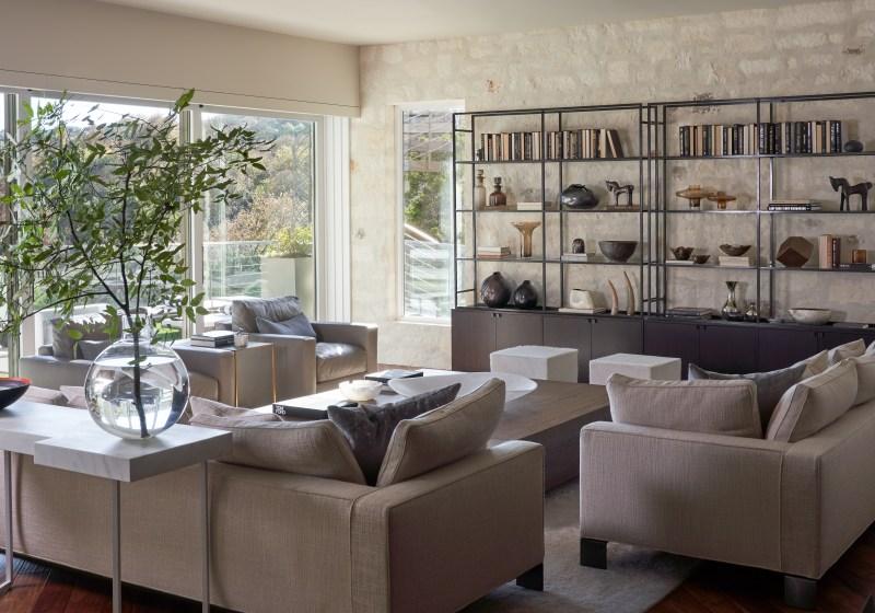 Westlake Hills Austin Living Room