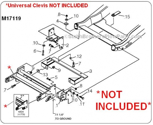 E60 Meyers Pump Wiring Diagram Genuine Meyer Mounting Carton 17119 For Ez Plus Or Mdii