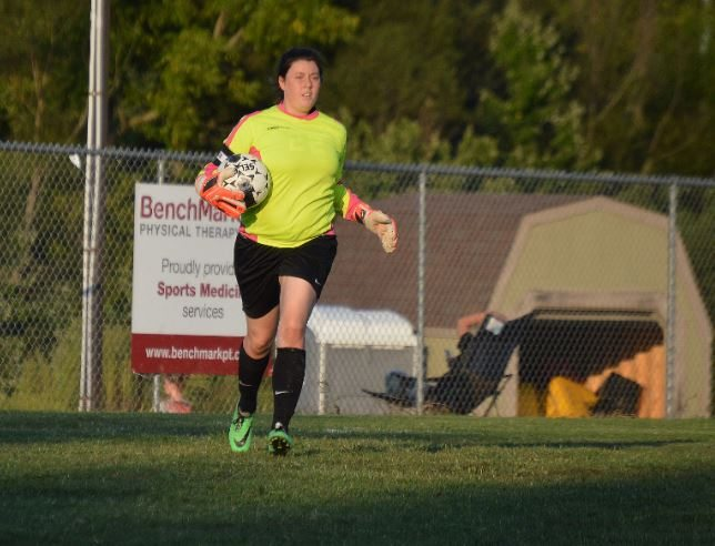 Goal Keeper Tori Lankford