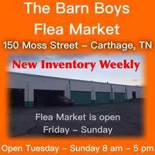 Barn Boys Flea Market
