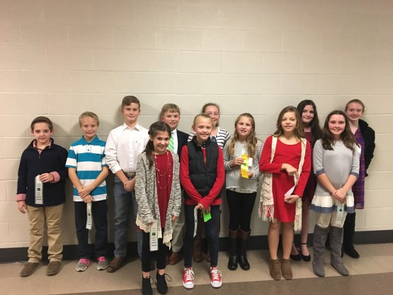 Smith County 4 H County Public Speaking Contest 2017