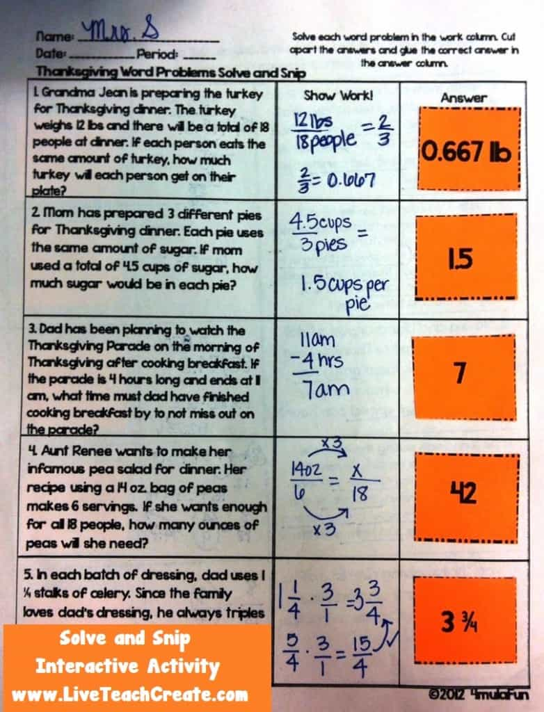 Fall Math Logic Puzzles