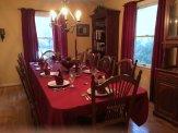 Dining room. . .