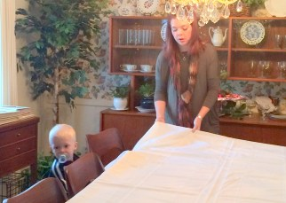 Raising up the next generation of table setters.