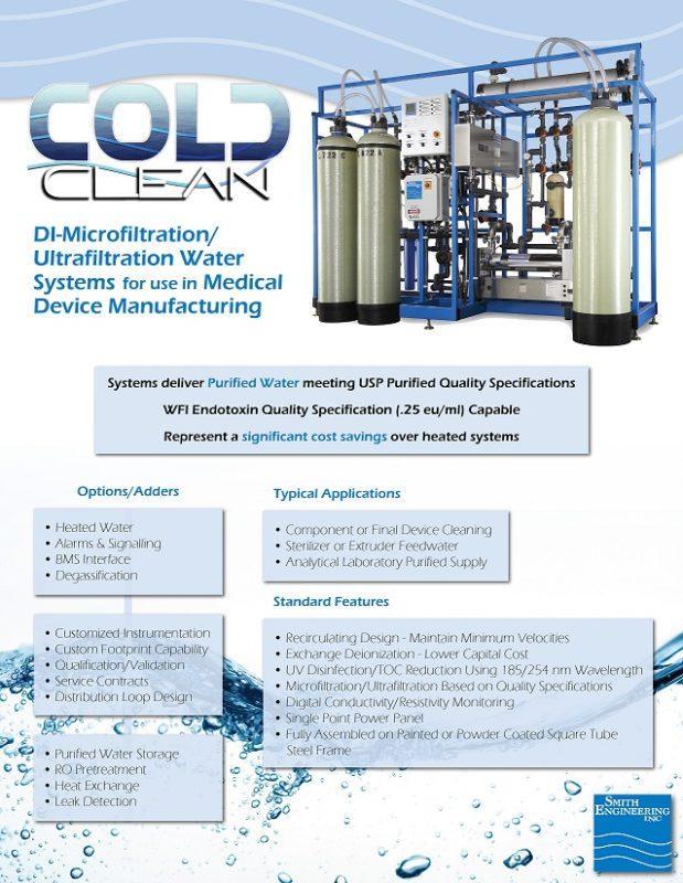 Cold Clean DI Microfiltration