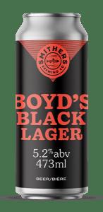 Boyd's Black Lager