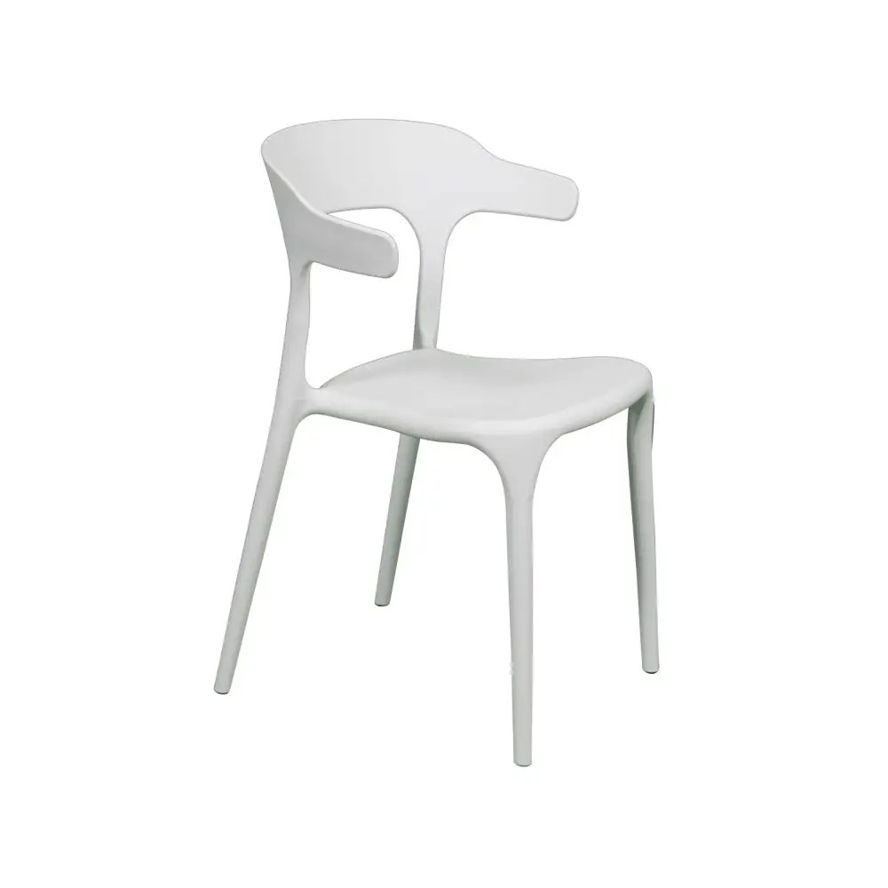 White Stackable Chairs Buffalo Stacking Chair
