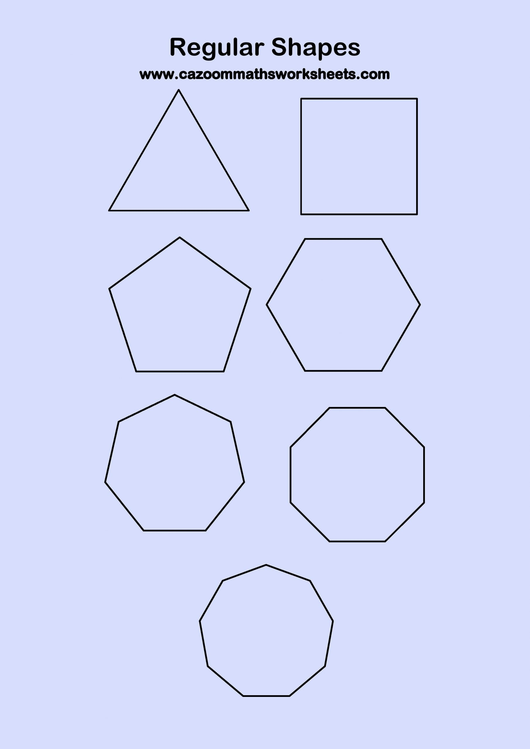 30 Angles Of Polygon Worksheet