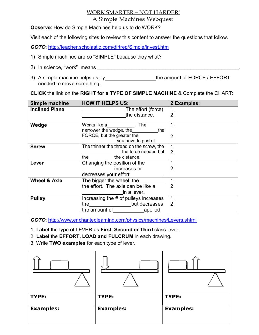 medium resolution of Science Machines Worksheets   Printable Worksheets and Activities for  Teachers