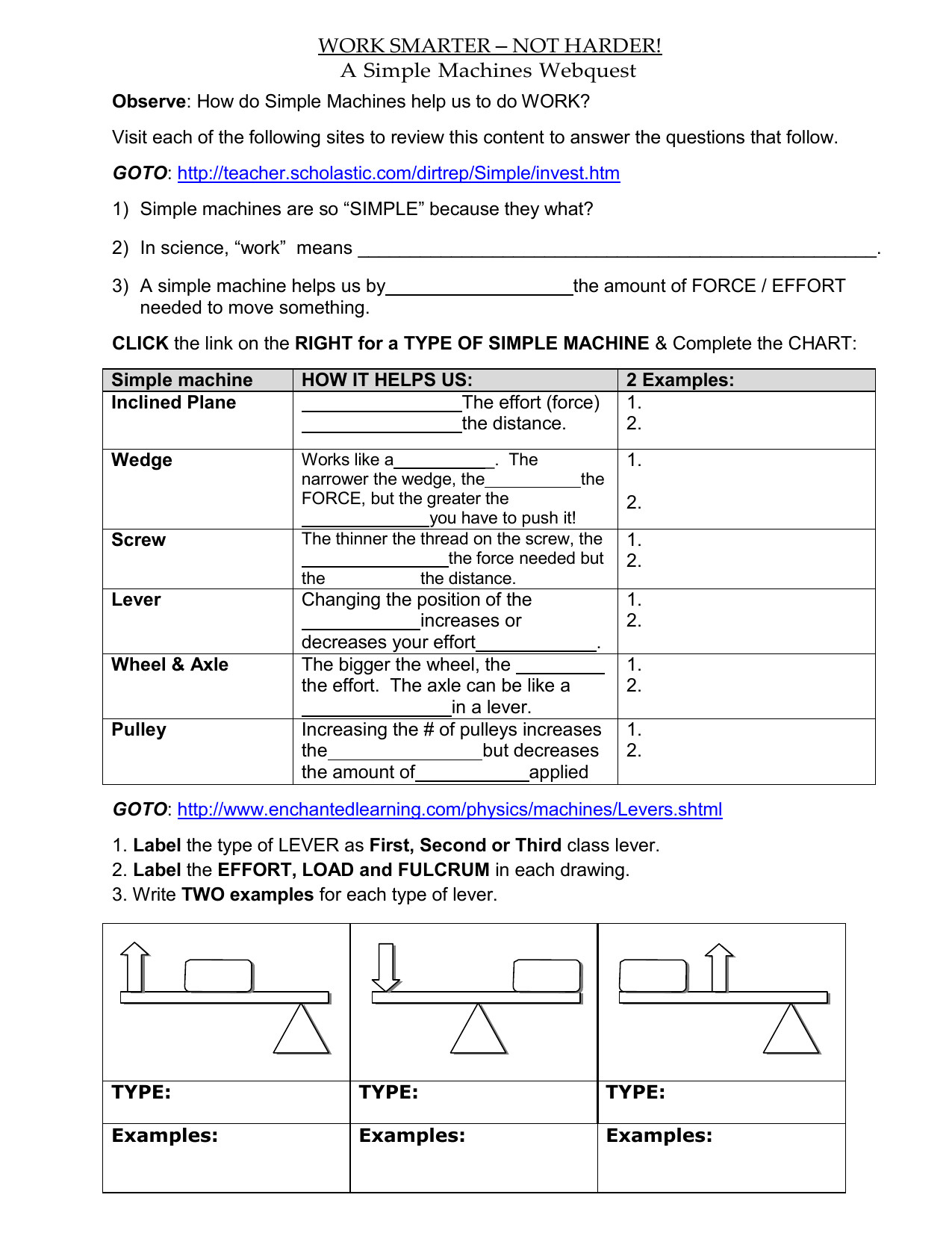 hight resolution of Science Machines Worksheets   Printable Worksheets and Activities for  Teachers