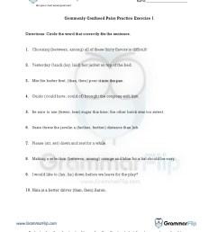 Easily Confused Words Worksheet Pdf   Printable Worksheets and Activities  for Teachers [ 1650 x 1275 Pixel ]