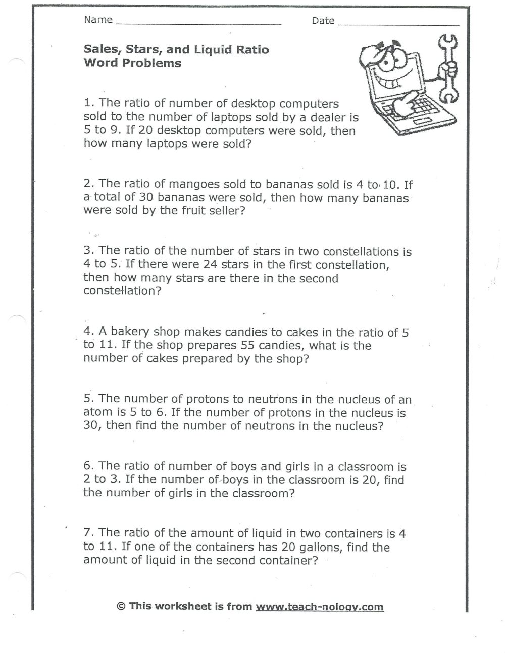medium resolution of Direct And Inverse Variation Worksheet Key   Printable Worksheets and  Activities for Teachers