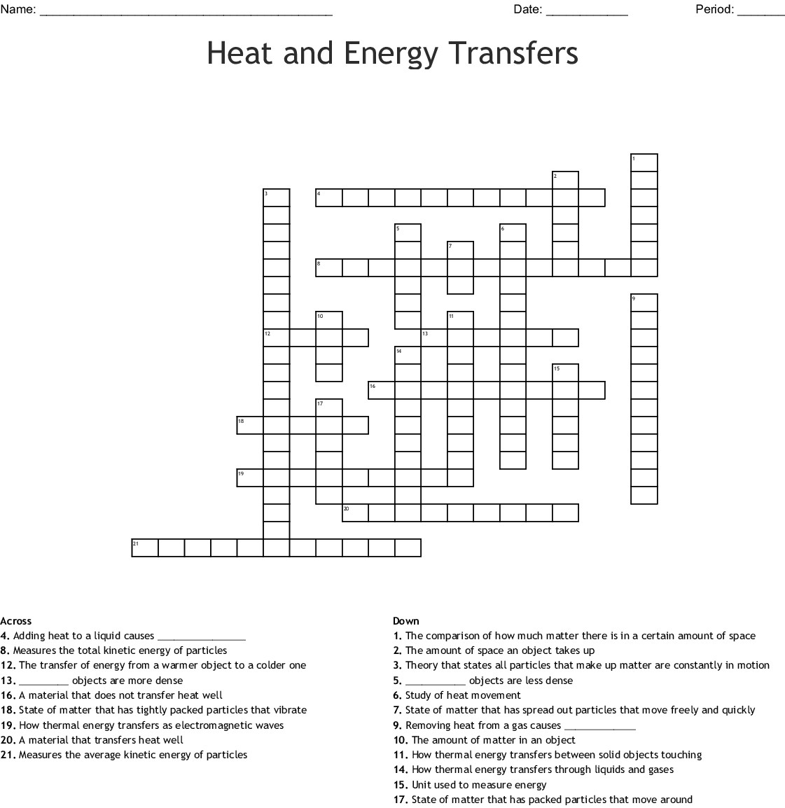 30 Heat Transfer Worksheet Answer Key