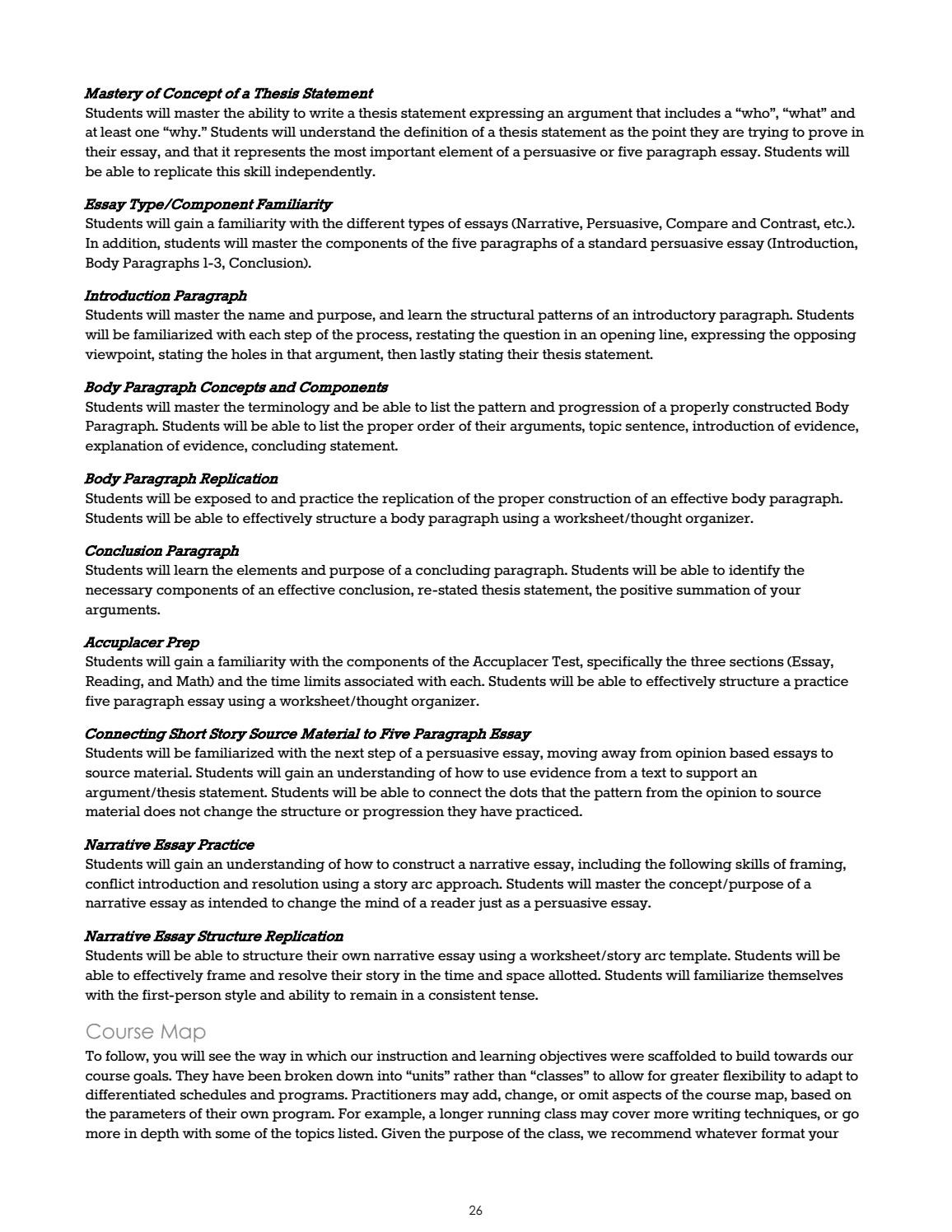 Identifying Thesis Statement Worksheet Education Template