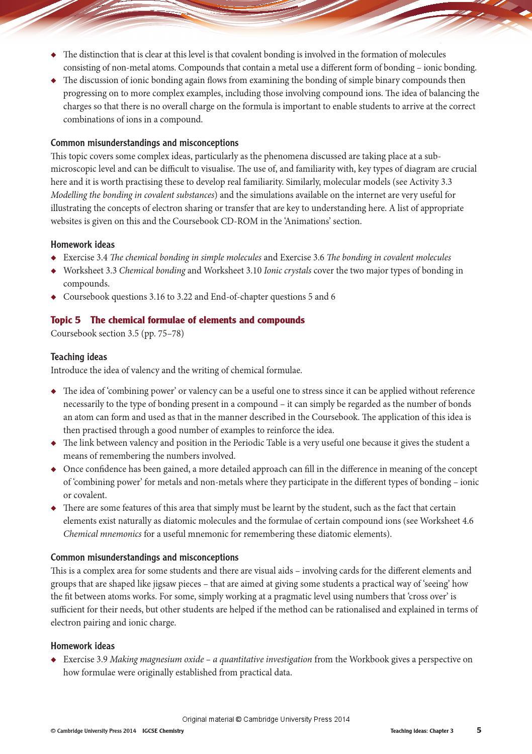 30 Ionic Bonding Worksheet Answers