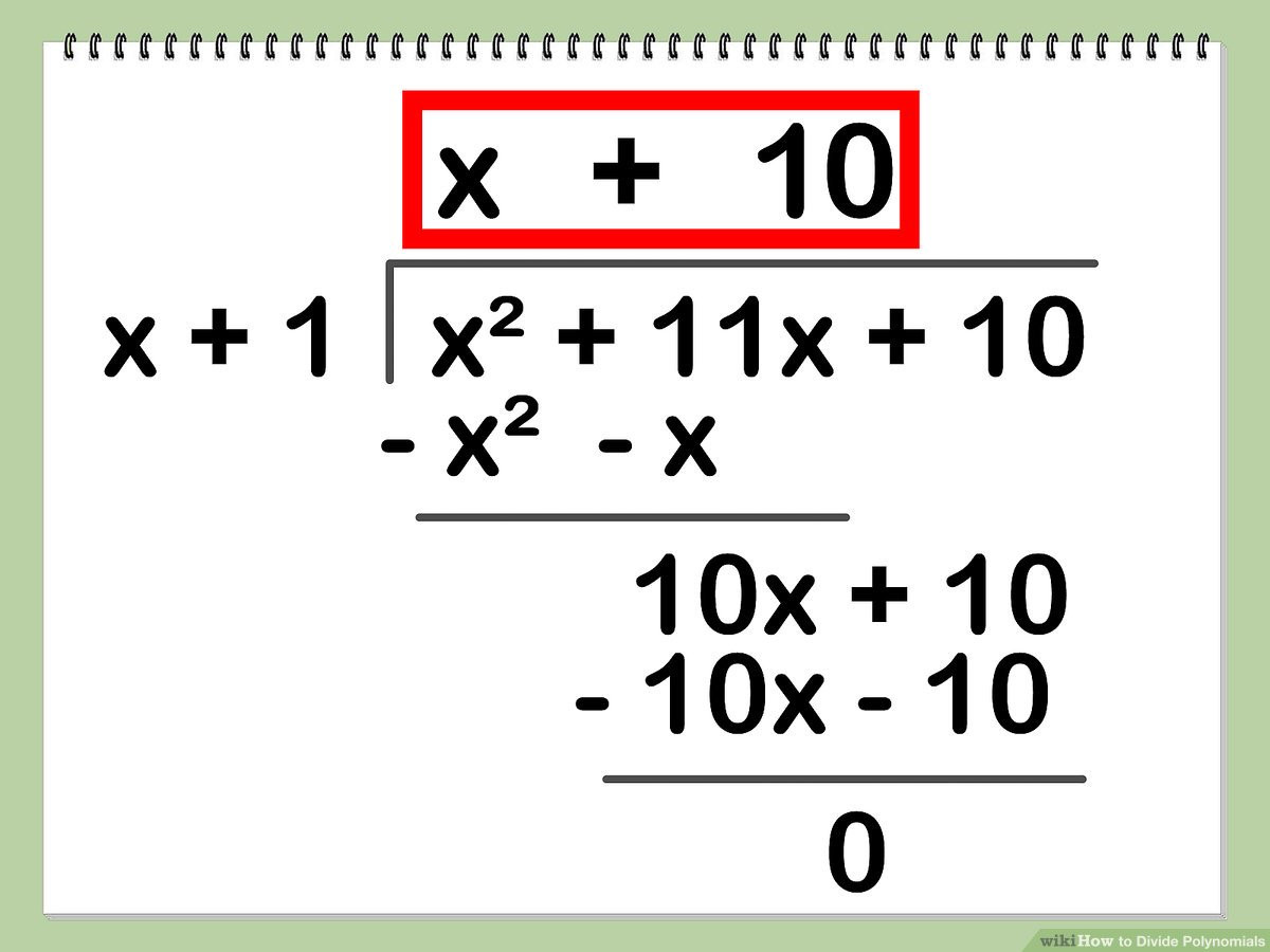 30 Long Division Of Polynomials Worksheet
