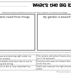Outline Main Idea Worksheet   Printable Worksheets and Activities for  Teachers [ 1236 x 1600 Pixel ]