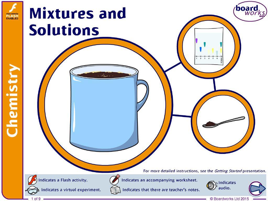 30 Mixtures And Solutions Worksheet