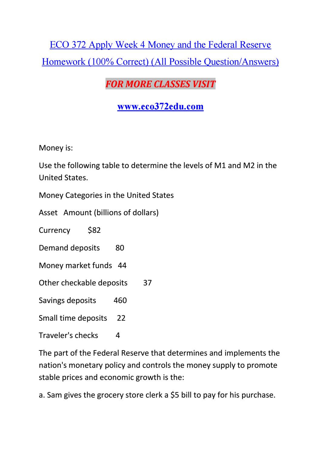 30 Monetary Policy Worksheet Answers