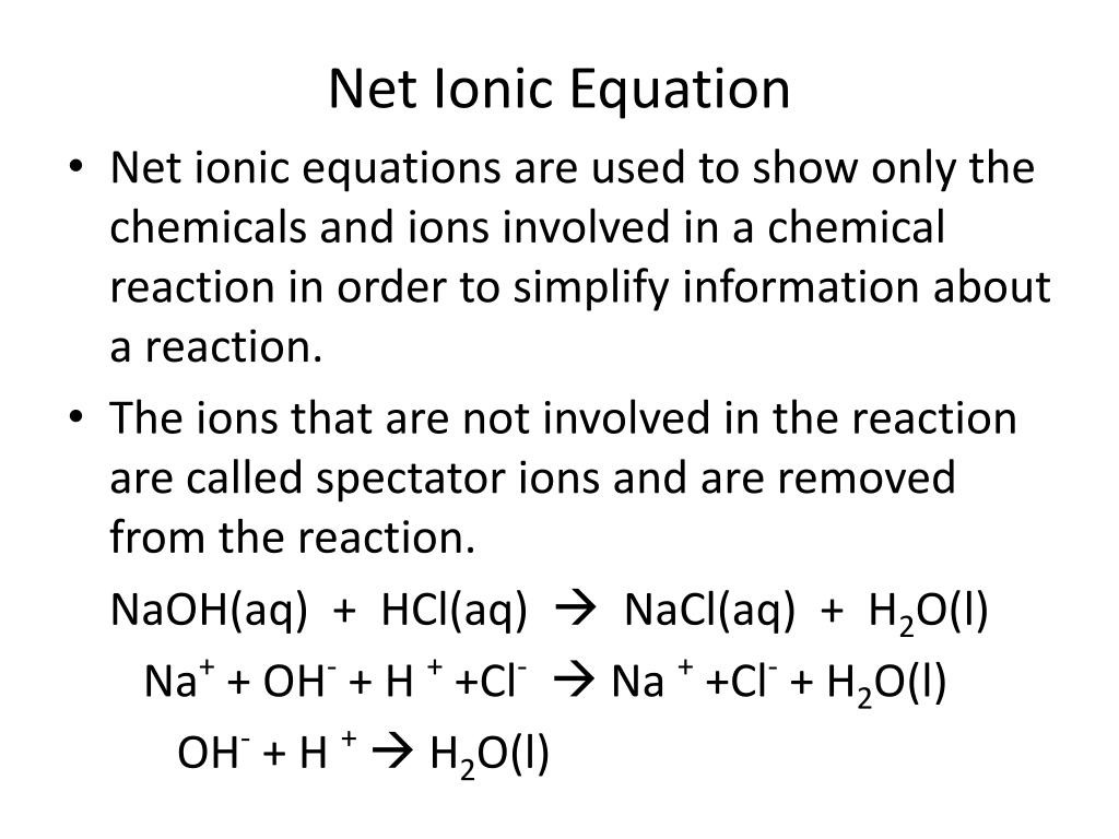 30 Net Ionic Equations Worksheet