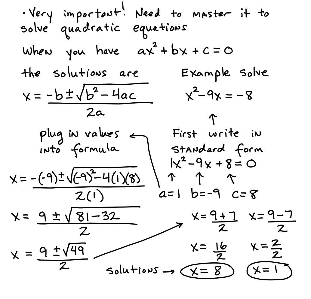 30 Quadratic Formula Worksheet With Answers