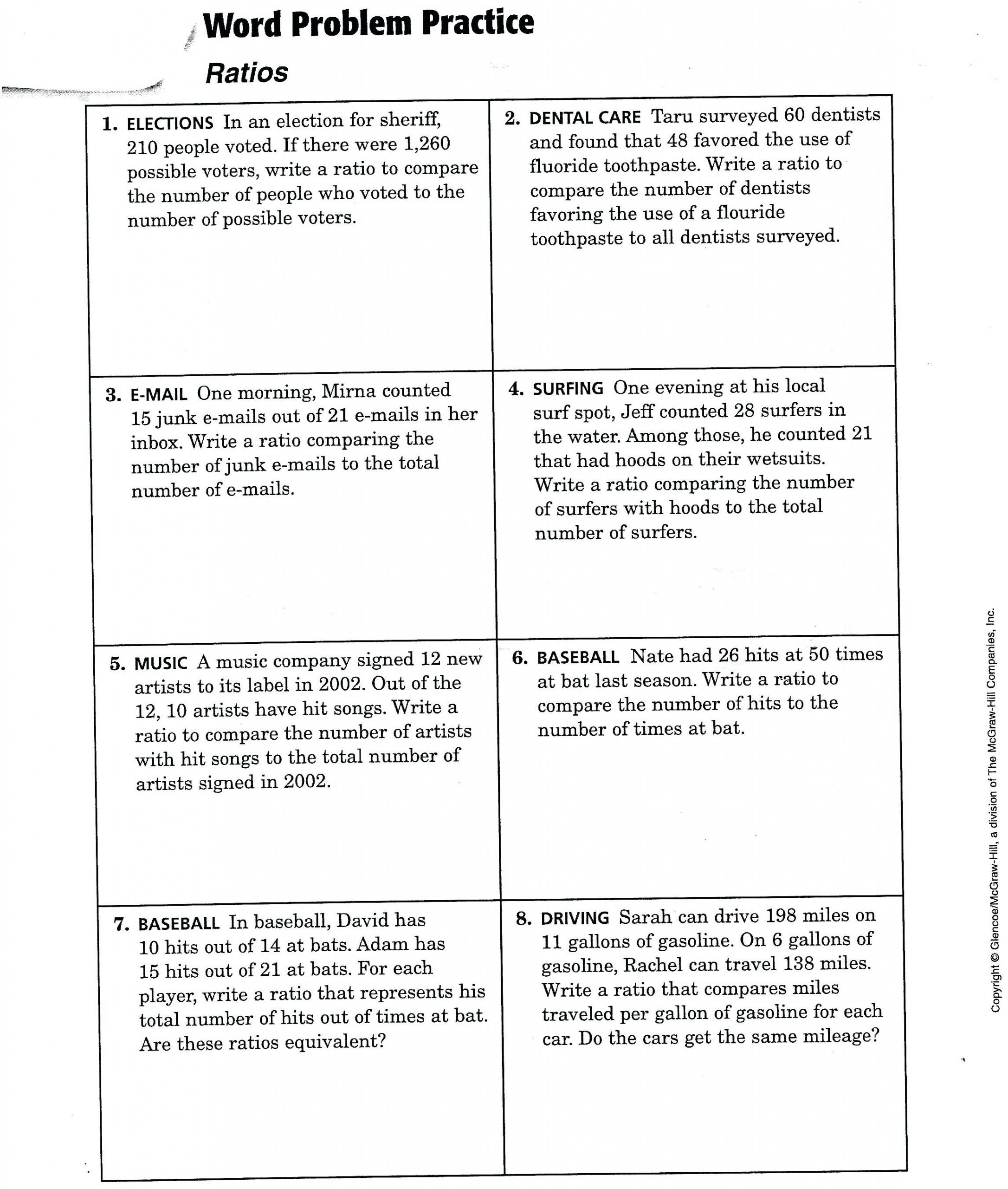 30 Simple Interest Problems Worksheet