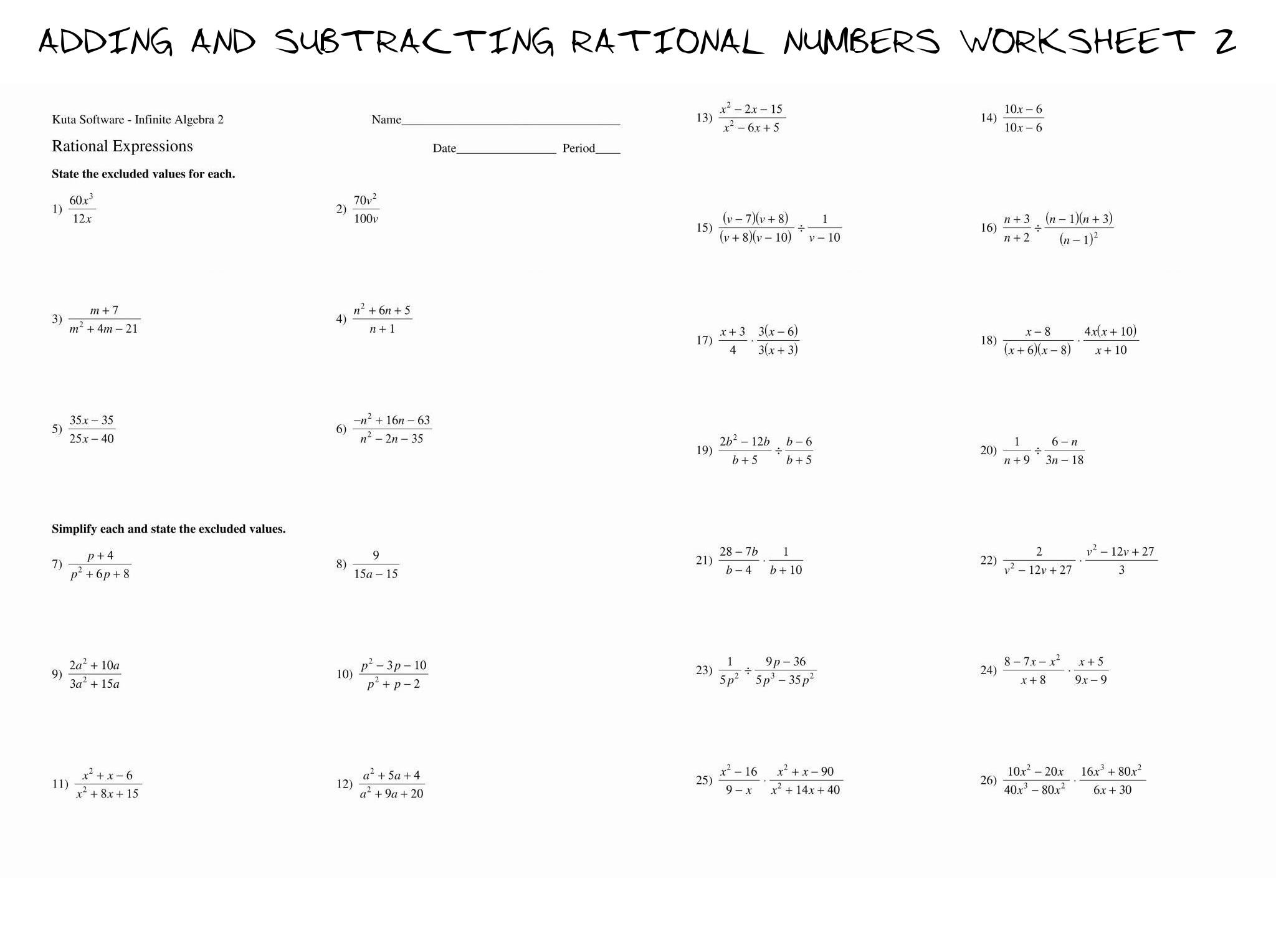 30 Simplifying Radical Expressions Worksheet