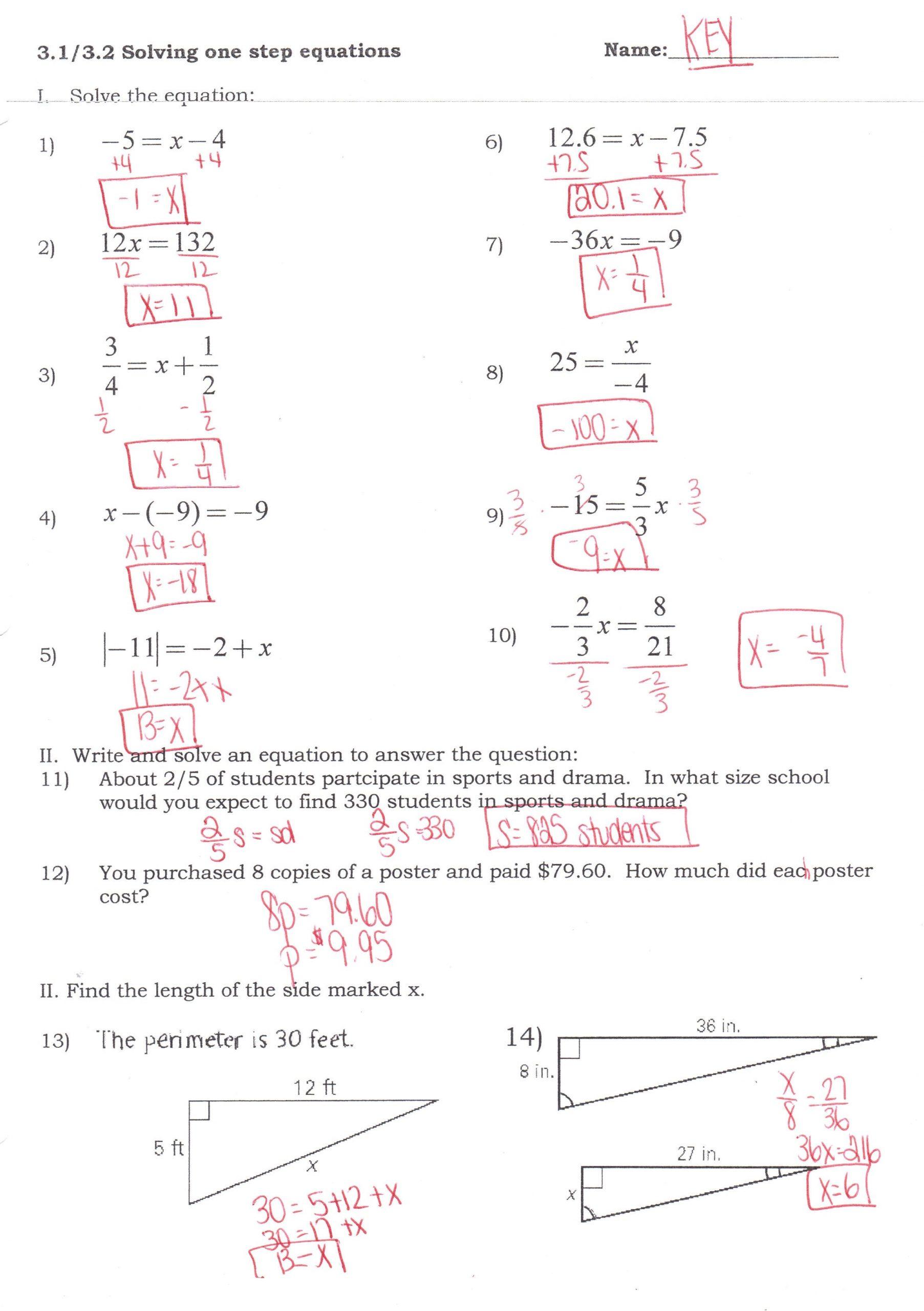 30 Solving Equations By Factoring Worksheet