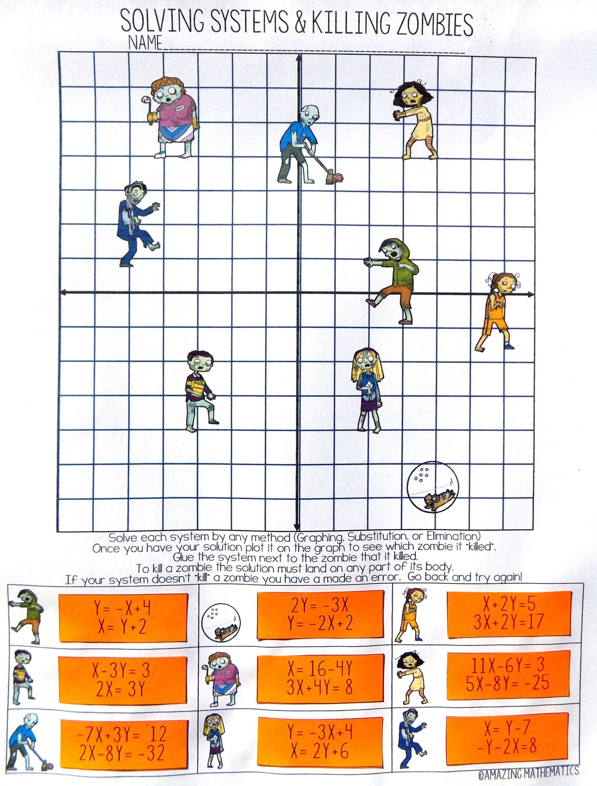 30 Solving Systems By Graphing Worksheet