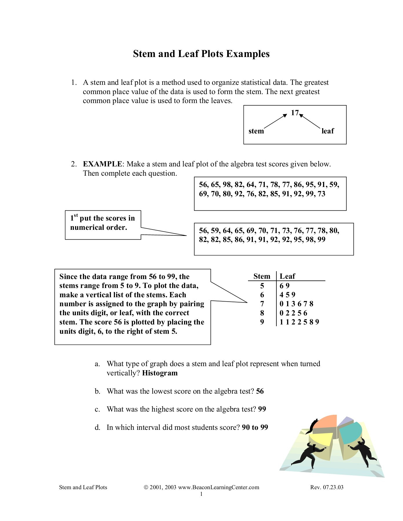 30 Stem And Leaf Plot Worksheet