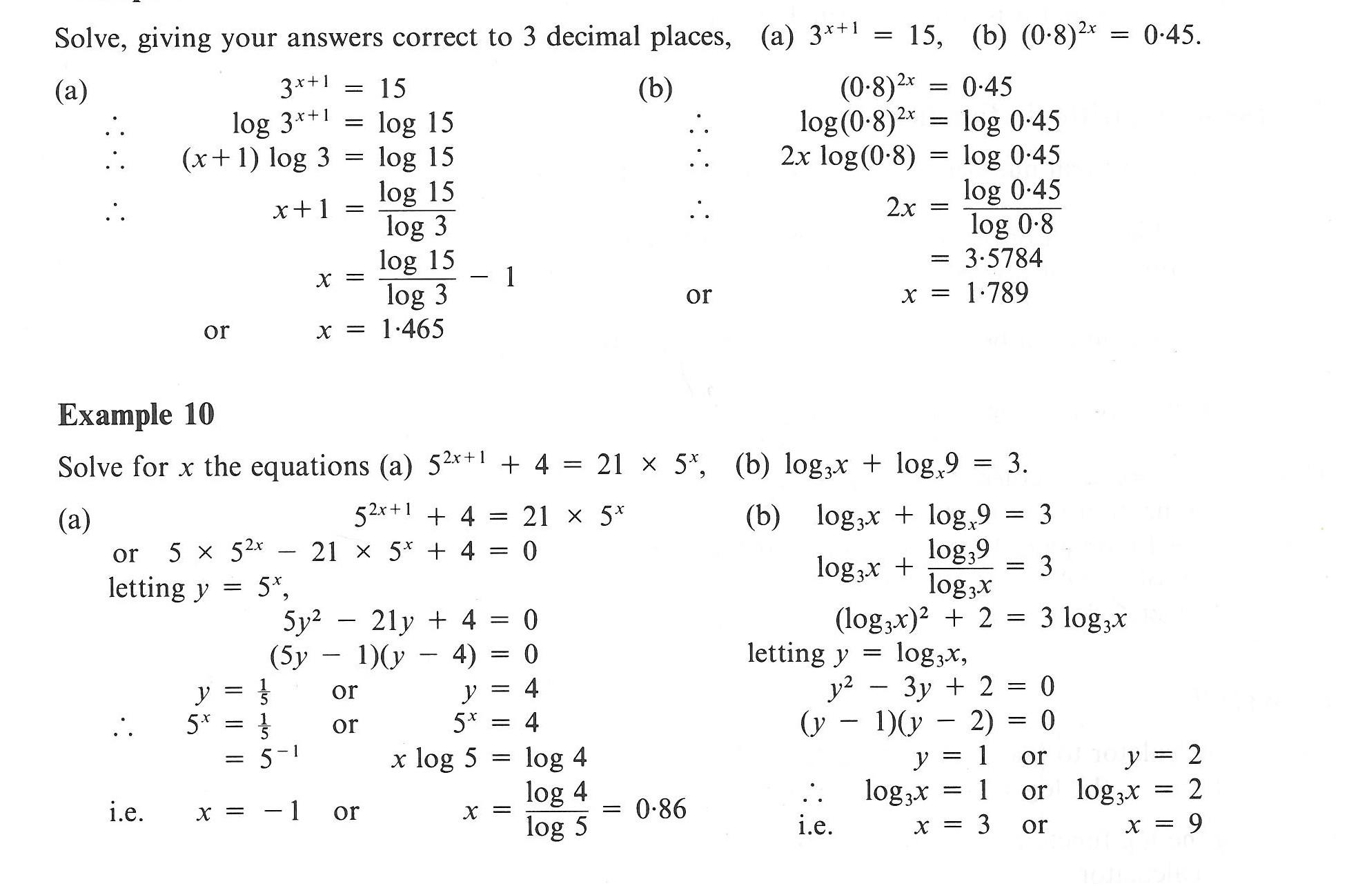 30 Substitution Method Worksheet Answer Key