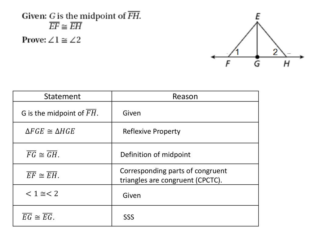 30 Two Column Proof Worksheet