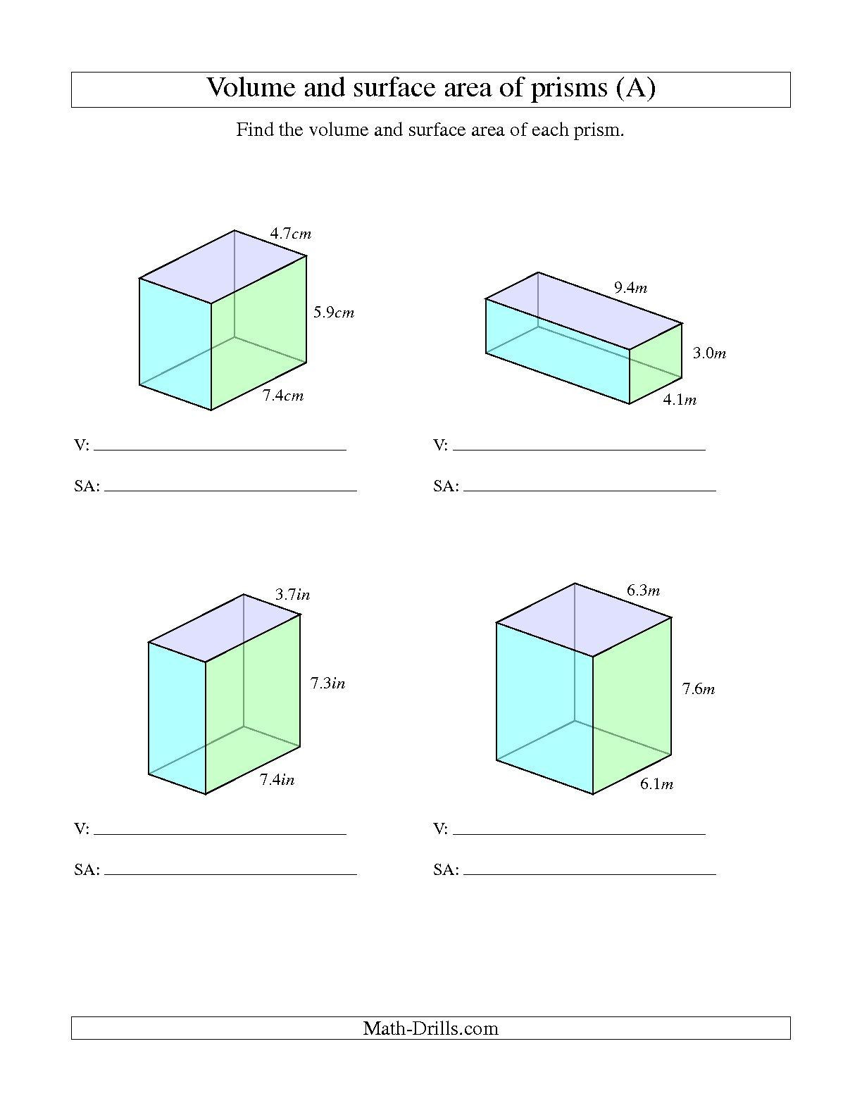 30 Volume Of Composite Figures Worksheet