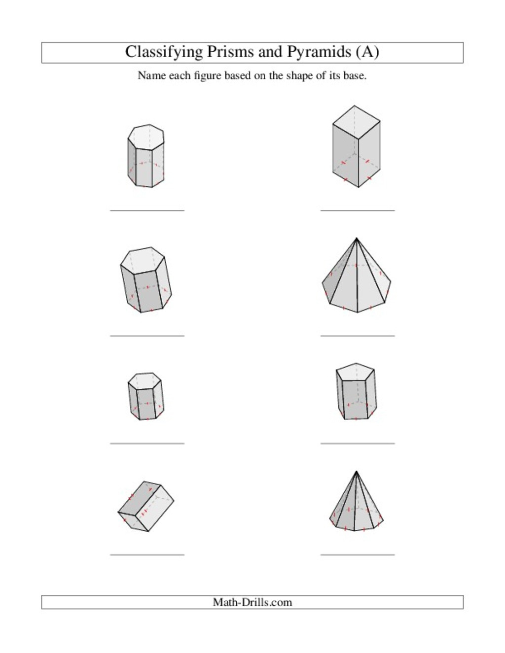 30 Volume Of Pyramids Worksheet