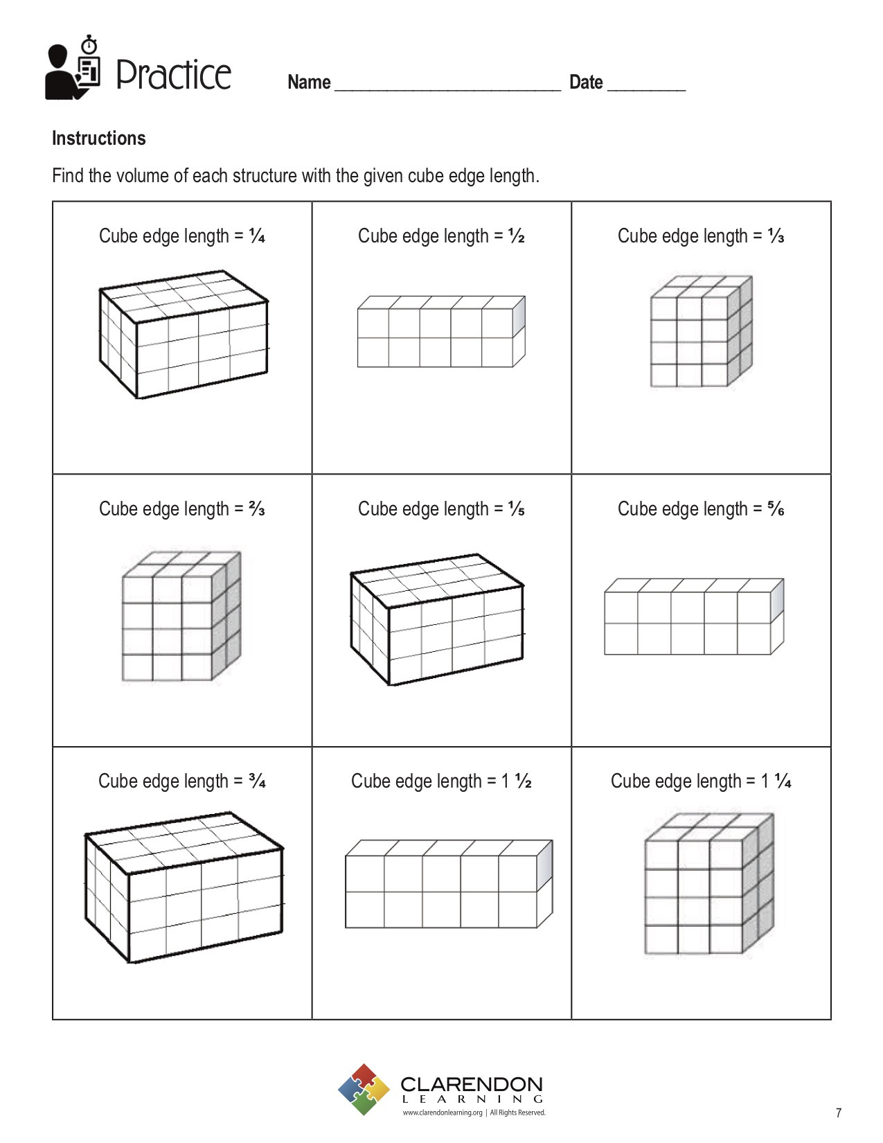 30 Volumes Of Prisms Worksheet